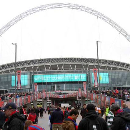 FA Cup Wembley outside