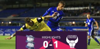 Birmingham city vs Oxford United highlights 2016