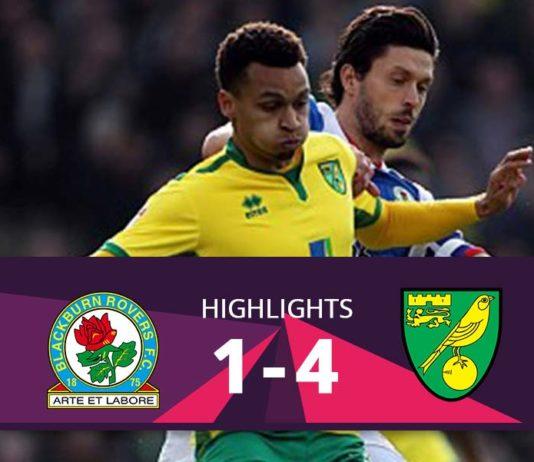 Blackburn Rovers vs Norwich City Highlights 2016