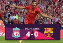 Liverpool vs Barcelona hightlights 2016