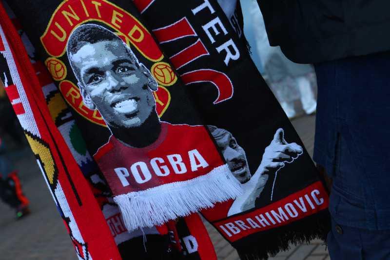 man utd scarf