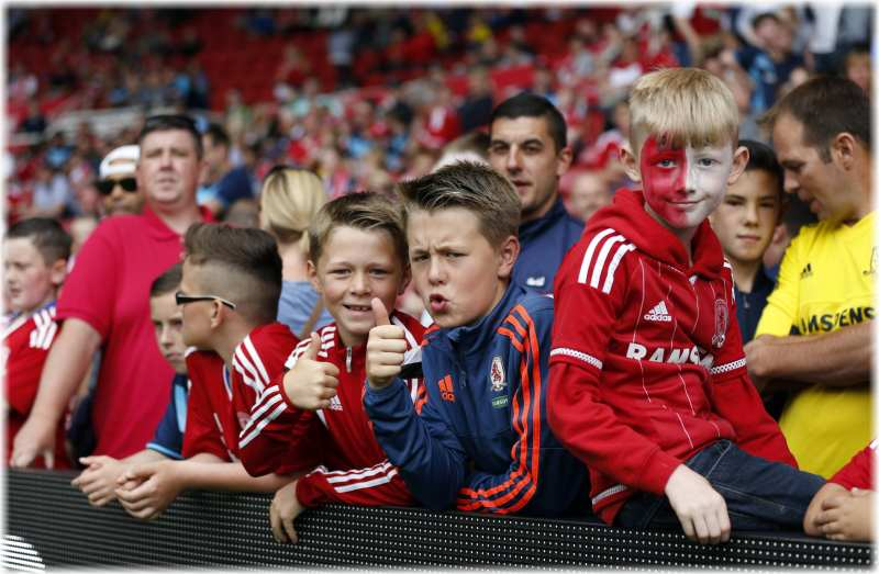 middlesbrough strange fans