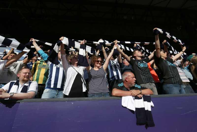 west bromwich fans