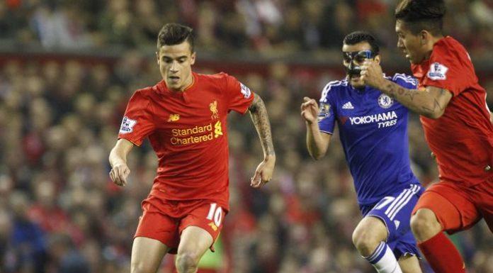 Chelsea - Liverpool bild från förr.