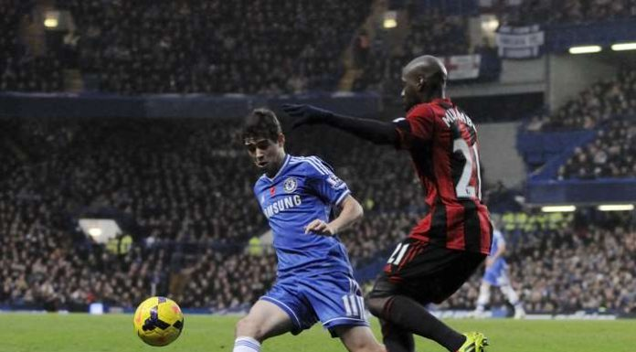 Chelsea i spel från förra veckan