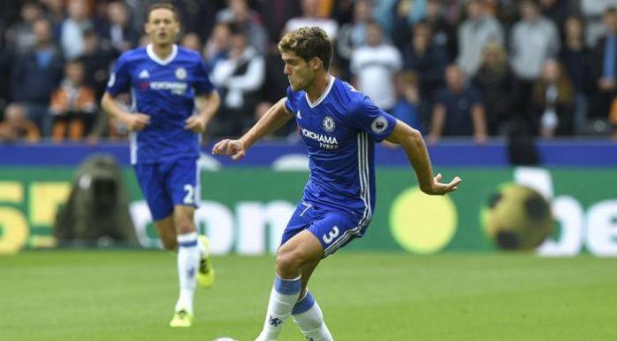 Chelsea spelar mot Hull.