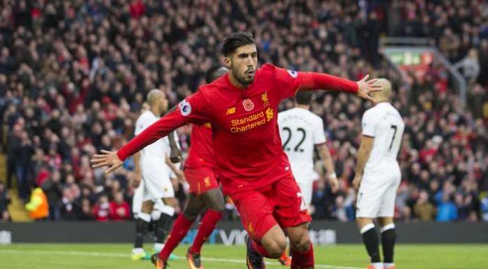 Liverpool segerjubel