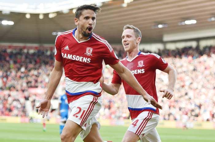 Middlesbrough gör mål