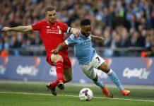 Liverpool mot Manchester City i mars 2016.