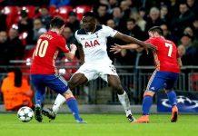 Tottenham spelar CL.