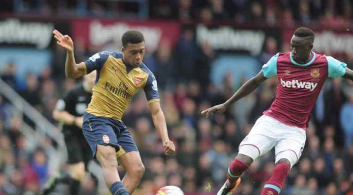 West Ham hemma mot Arsenal 2015/2016