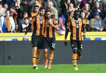 Hull City celebrating - Hull odds hemma