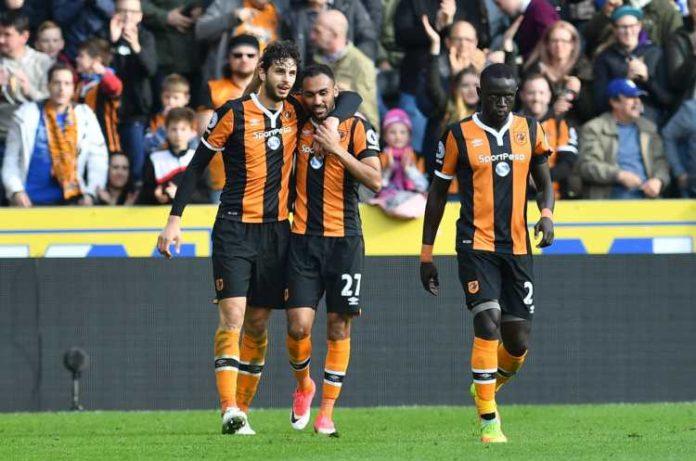 Hull City celebrating - Hull odds hemma