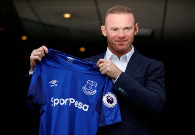 Wayne Rooney transfer klar