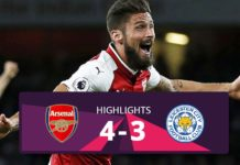 Arsenal vs Leicester hightlights 2017