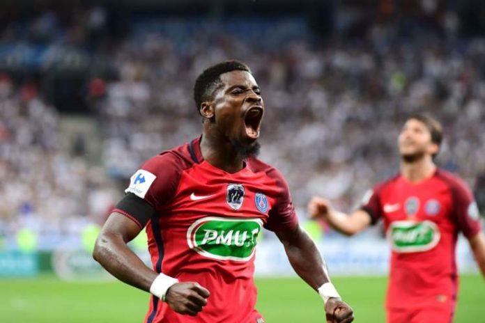 Aurier PSG Man Utd.