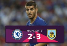 Chelsea vs Burnley hightlights 2017