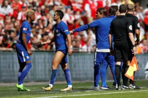 chelsea - players and Conte
