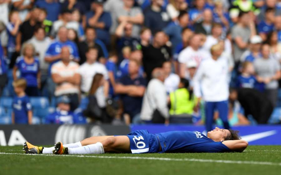 Chelsea sleeping
