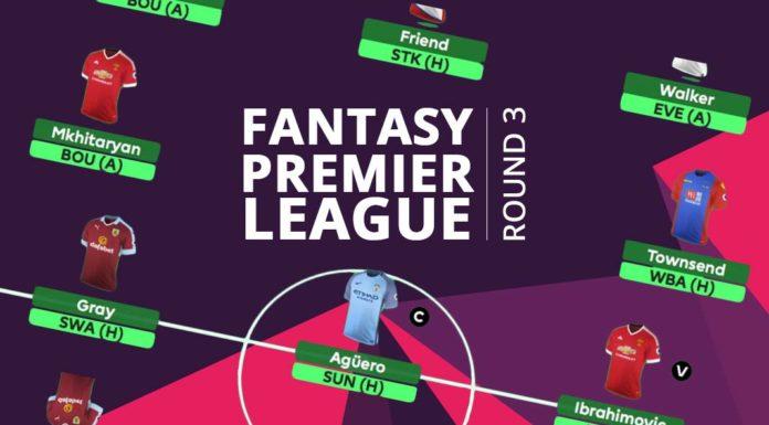 Fantasy Premier League - Round 3