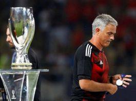 Jose Mourinho trophy