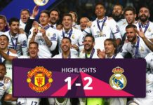 Manchester United vs Real Madrid Supercup hightlights 2017