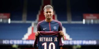 Neymar PSG shirt 2017