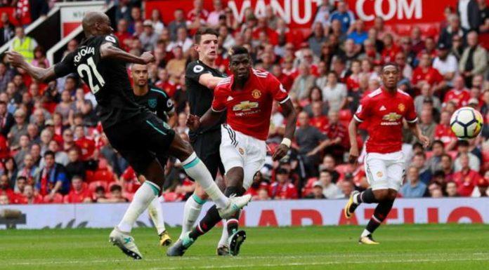 Pogba Manchester Utd