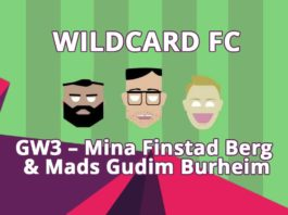 Wildcard FC - GW3 - Mina Finstad Berg & Mads Gudim Burheim