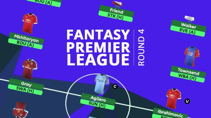 Fantasy Premier League - round 4