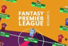 Fantasy Premier League - round 5