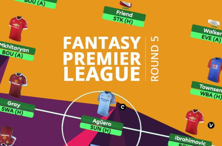 Fantasy Premier League - round 5