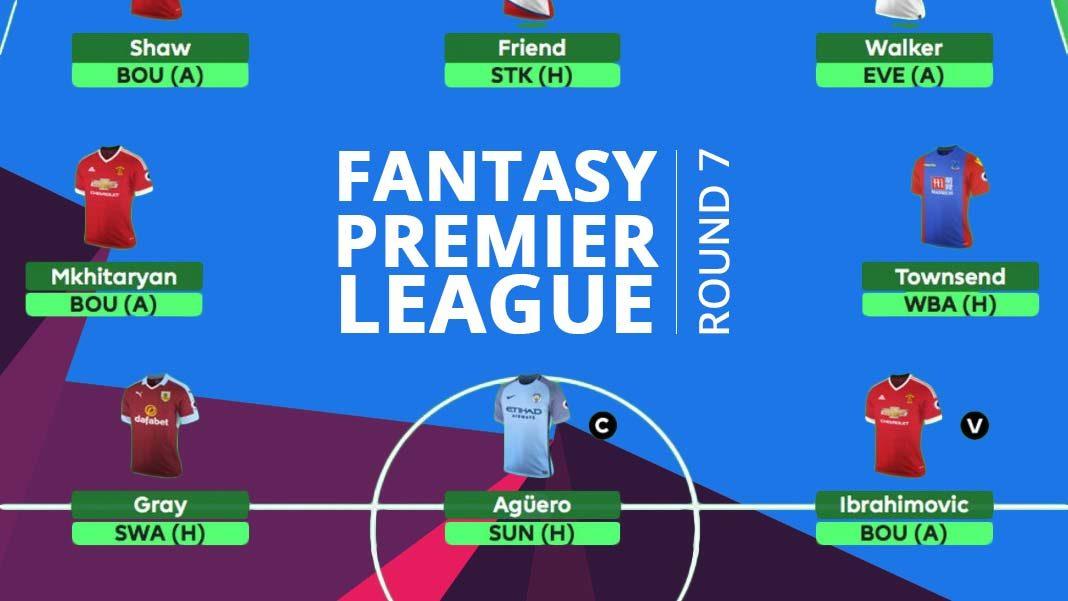 Fantasy Premier League - round 7