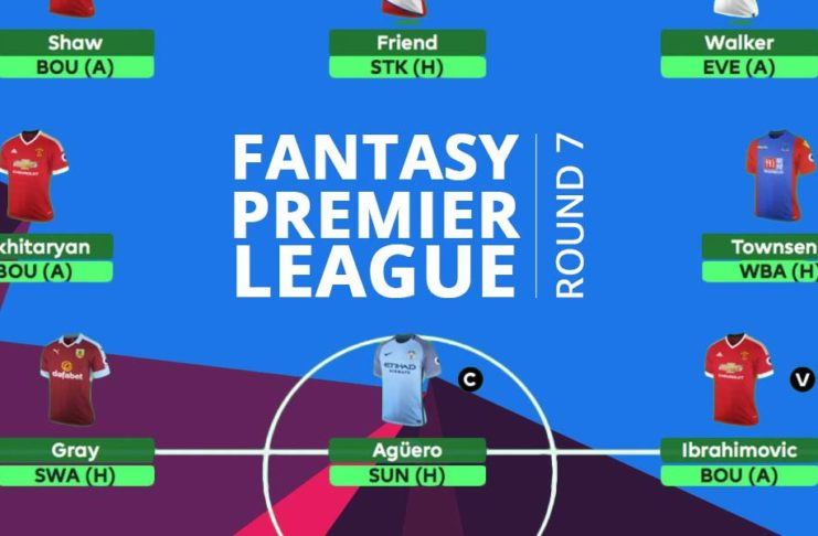 Fantasy Premier League - round 7