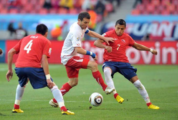 Arsenal Hugo Sanchez Chile