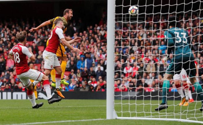 Arsenal in action
