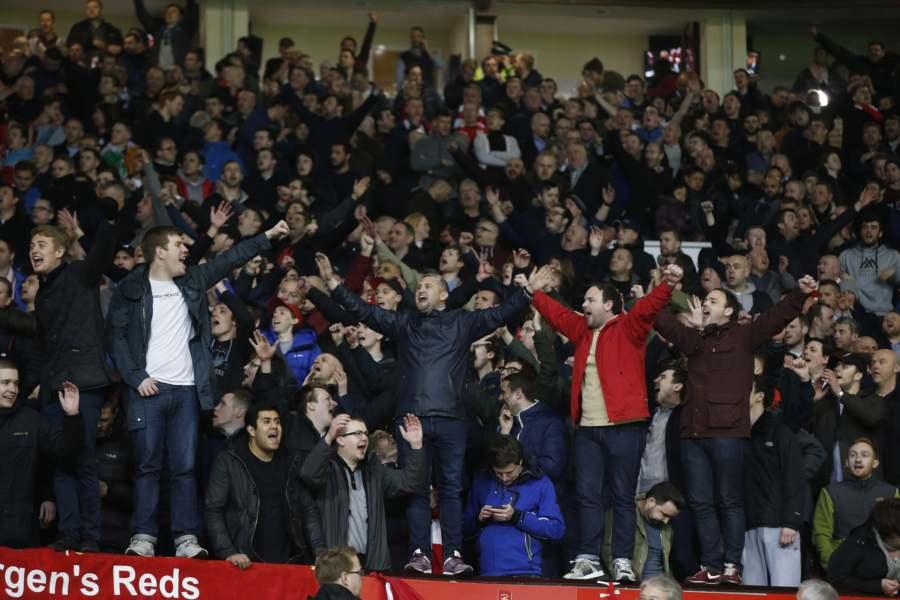 Liverpool crowd