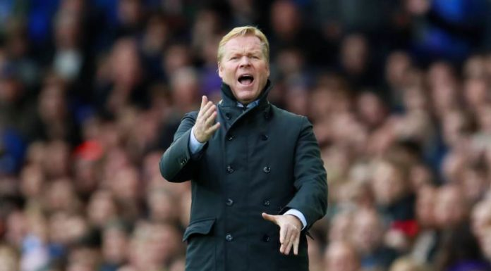 Ronald Koeman coaching
