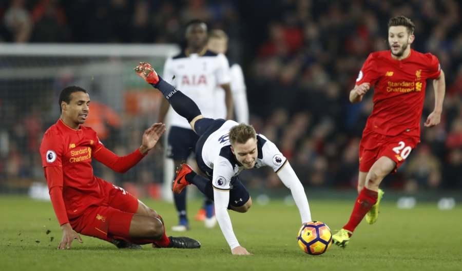 Tottenham vs. Liverpool