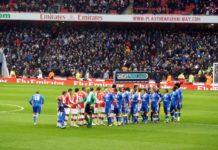 Arsenal i aktion