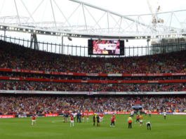 Arsenal vs. Tottenham Premier League Round 12