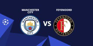 Manchester city vs Feyenoord - Champions League 2017/18