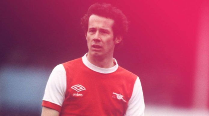 North London Derby Liam Brady